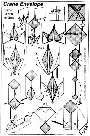 Crane Envelope – Minako Ishibashi
