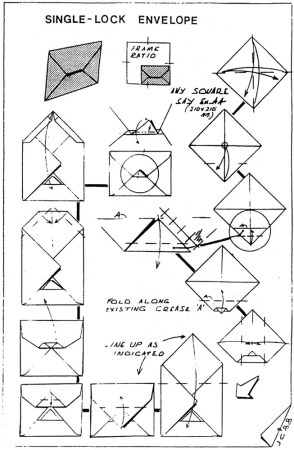Single-Lock Envelope – John Cunliffe