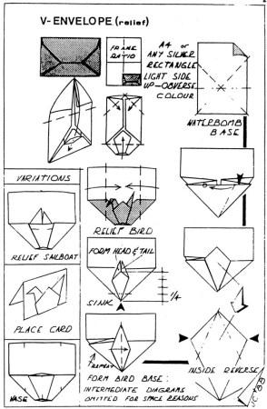 V-Envelope – Traditional – John Cunliffe