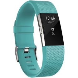 Fitbit Charge 2 Teal Silver