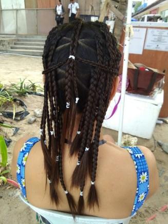 hair braid ala Boracay