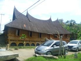 Rumah panggung di Solok