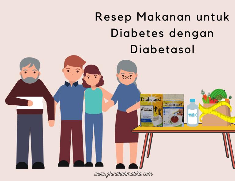 resep makanan untuk diabetes dengan diabetasol