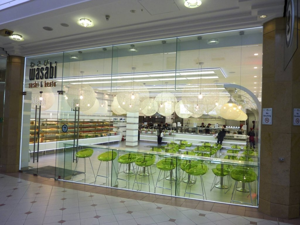 GLASS SHOP FRONTS GH Interior Glass
