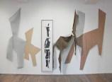 Installation, exposition le théâtre des pesanteurs, Centre d'art Passages, Troyes, 2006
