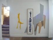Exposition Se retourner, Musée d'art, Baugé, 2008. photo:RaphaëlChipault