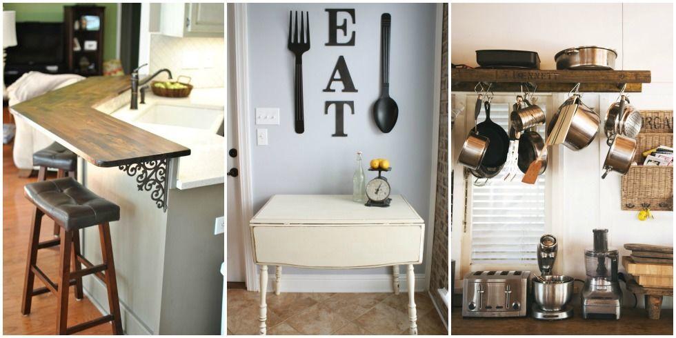 Small Kitchen Design Ideas Tiny Kitchen Decorating