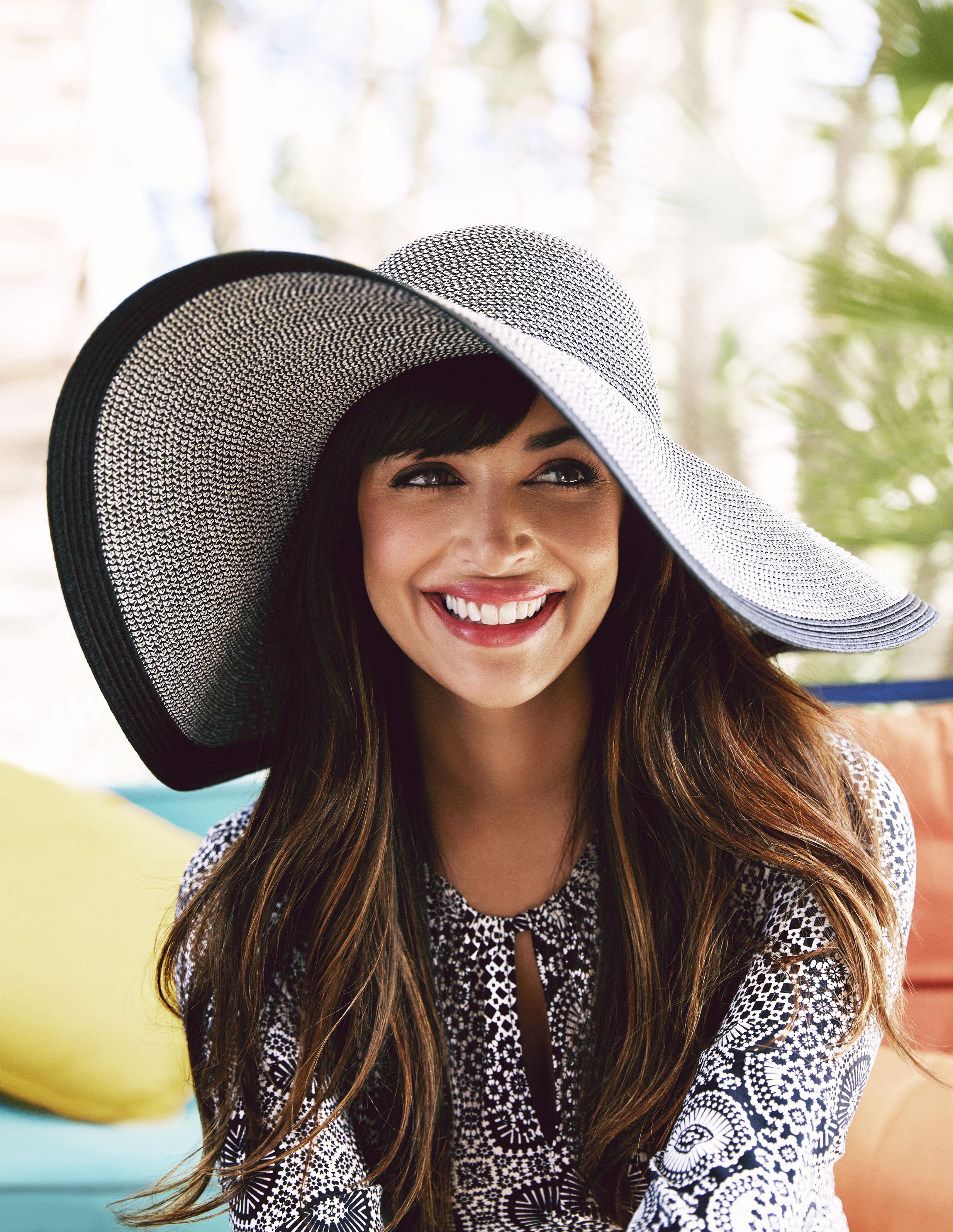 Hannah Simone Fashion Spread Good Housekeeping June 2015