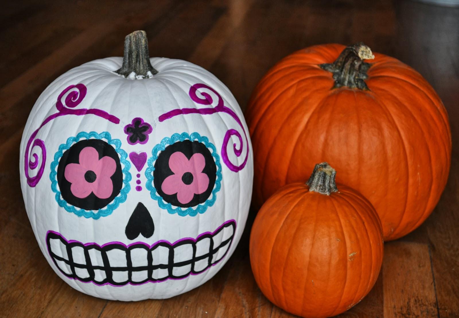 Image result for painted pumpkins