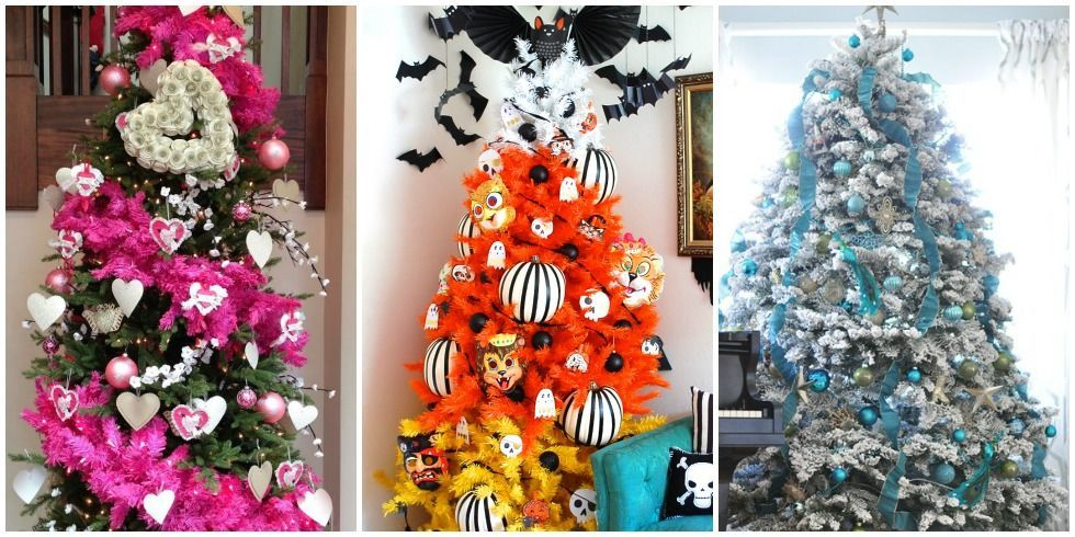 Holiday Trees To Decorate Your Home All Year Holiday