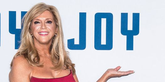 American inventor and entrepreneur Joy Mangano attends the 'Joy' New York premiere at Ziegfeld Theater on December 13, 2015 in New York City.