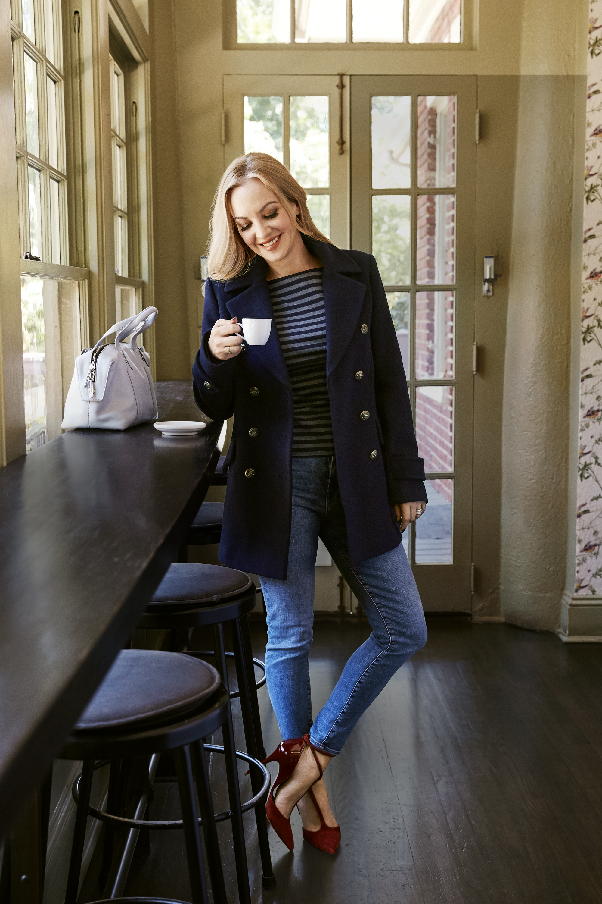Comedienne Wendi McLendon Covey Models This Falls Must Haves Autumn Fall Fashion 2016