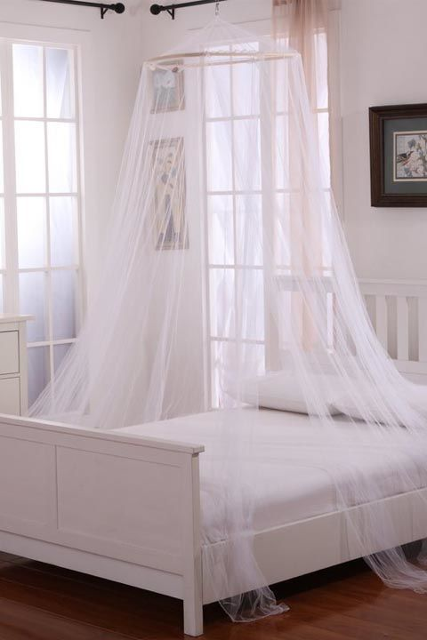$30 BUY NOW If you want your master suite to be the ultimate serene escape, this flowing canopy is the fastest way to achieve this vibe. It's one part glamorous and one part bohemian.