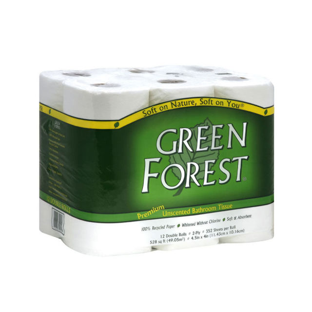 green forest bathroom tissue review, price and features - pros and