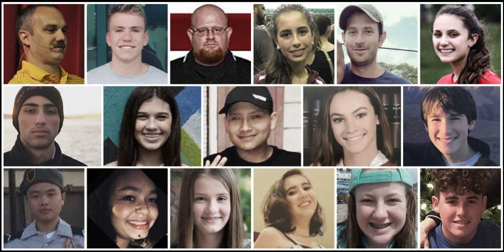 Image result for victims of the florida shooting