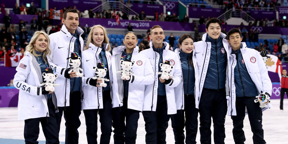 Image result for olympics 2018 figure skating team usa