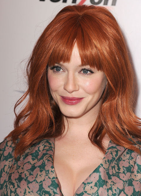 Red Hairstyles Celebrity Hairstyles For Redheads