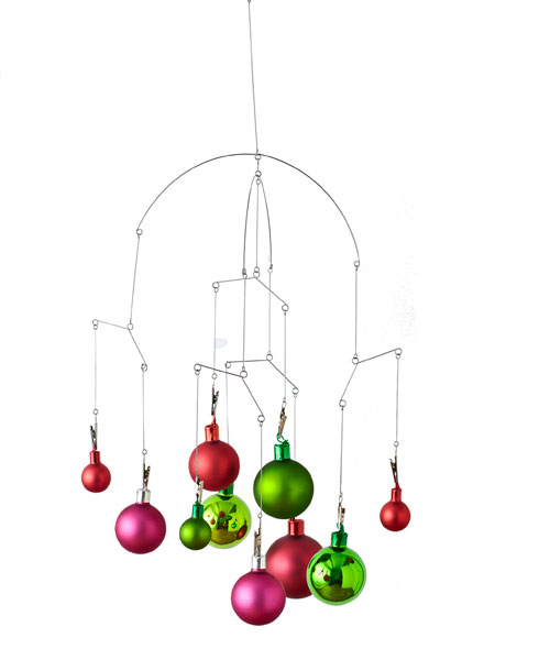 Christmas Ornament Chandelier
