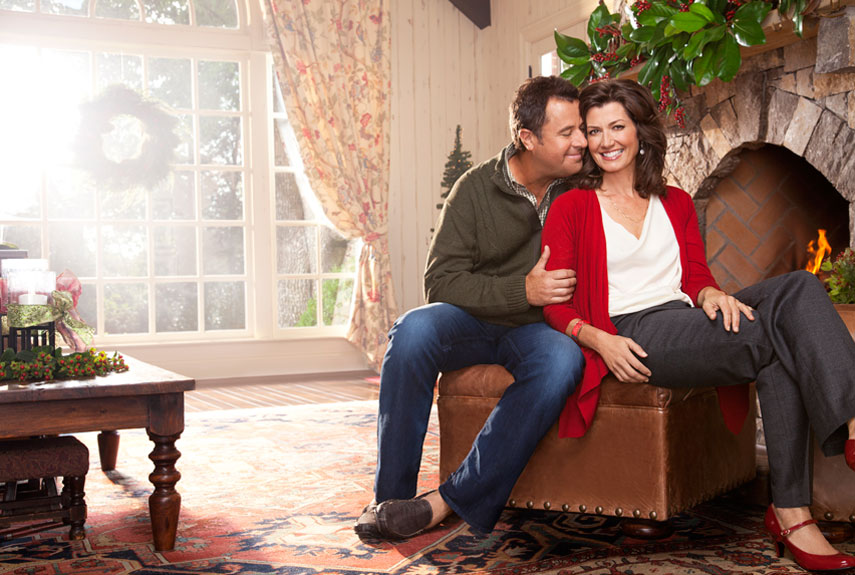 Amy Grant And Vince Gill Christmas Interview