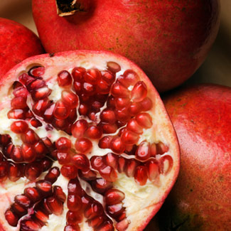Long associated with abundance and fertility, pomegranates are eaten in Turkey and other Mediterranean countries for luck in the New Year. Try these recipes: Pomegranate-Berry Smoothie; Waldorf Salad Deluxe; or Pink Grapefruit and Endive Salad.