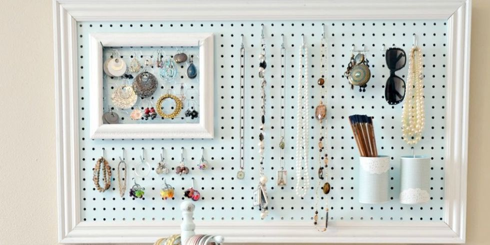 Pegboard Organizing Ideas Creative Ways To Use Pegboards