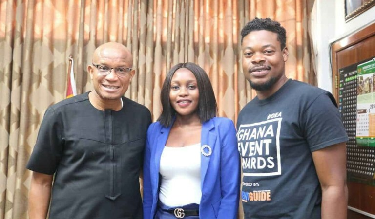 Minister for Information endorses Ghana Event Awards