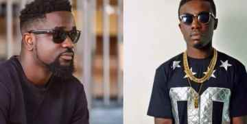 Sarkodie and Criss Wadlle