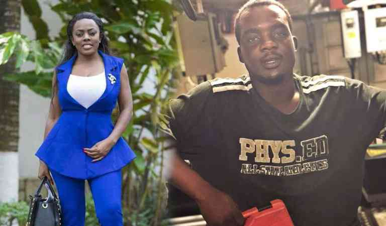 Nana Aba Anamoah to secure job at the Port for an Engineer