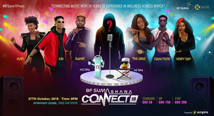 BF Suma GHANA CONNECT more tickets available NOW!
