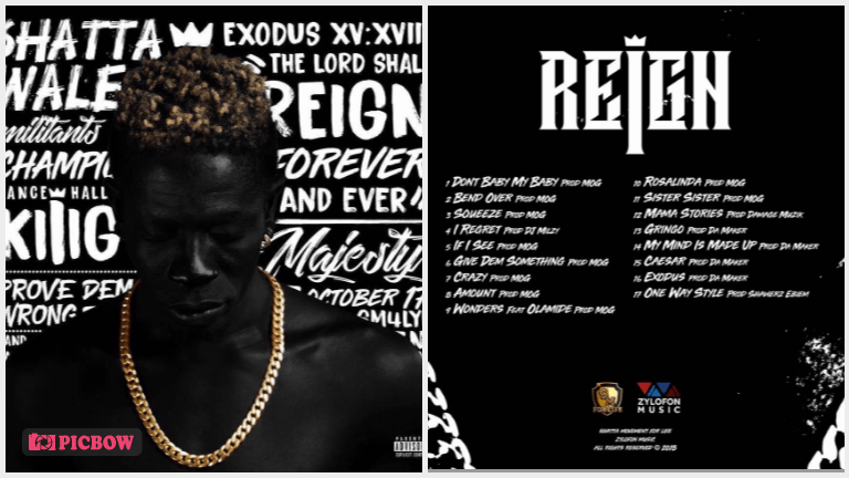 Download: Shatta Wale Reign Album (All Tracks) zip
