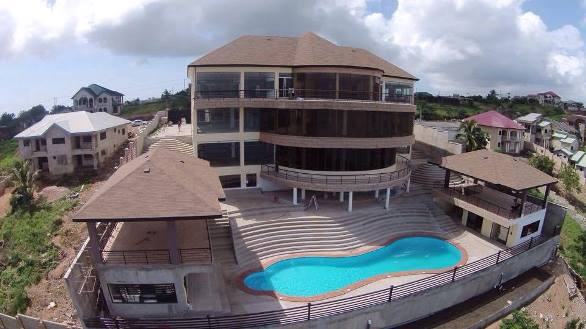 Asamoah Gyan's $3m house and others in danger – EPA raises alarm over collapse