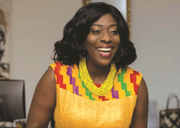 Minister Of Tourism and Arts, Catherine Afeku Describes Presenter's Question As 'Lame'