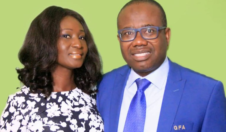Kwesi Nyantakyi's wife cries out and speaks for the first time