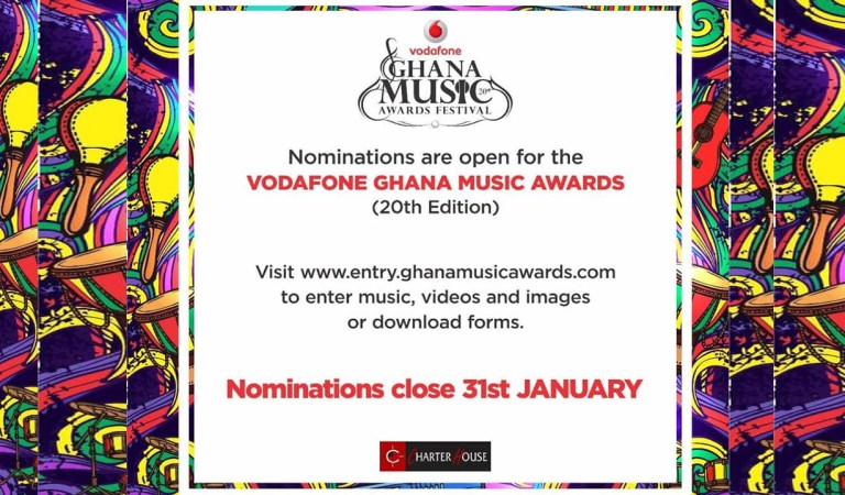 VGMA 2019 nominations opened for entry