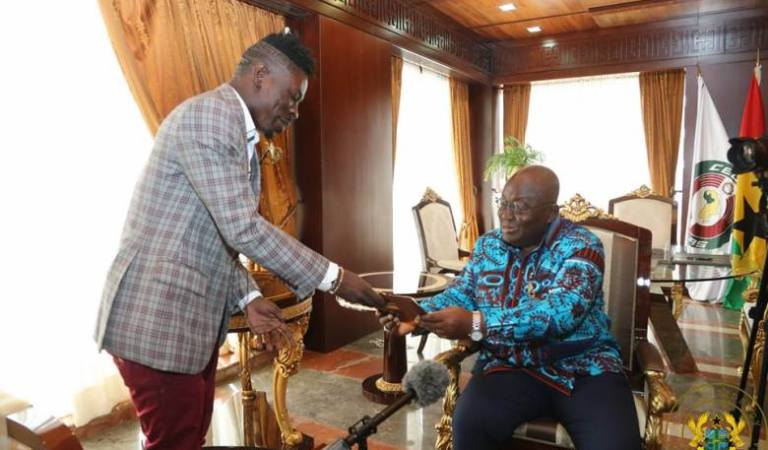 Ghana Is A Stupid Village, I Am Disappointed In President Nana Addo – Shatta Wale blasts President
