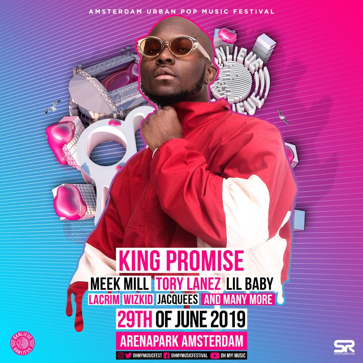 King Promise, OH MY MUSIC FESTIVAL, Meek Mill