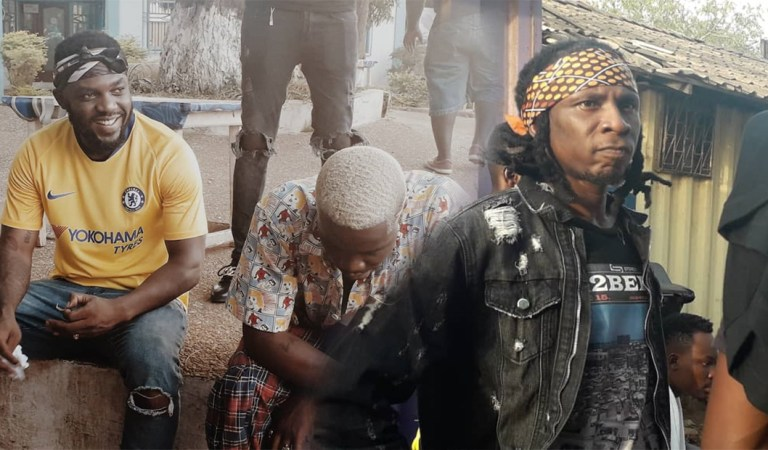 Exclusive Photos: R2bees shoot videos for all songs on 'Site 15' album plus documentary