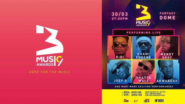 3 Music Awards