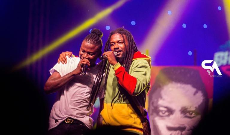 Exclusive Photos: Stonebwoy's concert at the Labadi Beach