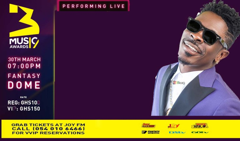 3MUSIC AWARDS: Shatta Wale named as opening act