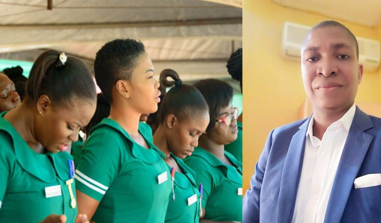 Nurses will marry you based on what you do & how much you earn – Counsellor Frank Adofoli tells why Nurses are not getting husbands