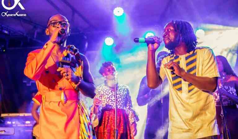 Photos: Okyeame Kwame launches 'Made in Ghana' album