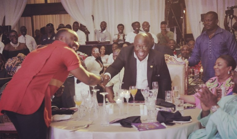 President Nana Addo Agrees to host DKB at Jubilee house to discuss Ghcomedy