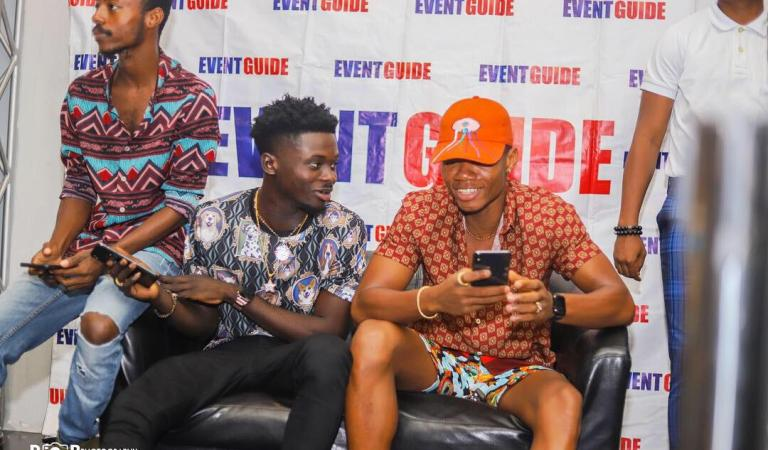 Event Guide Magazine: Kuami Eugene covers April edition