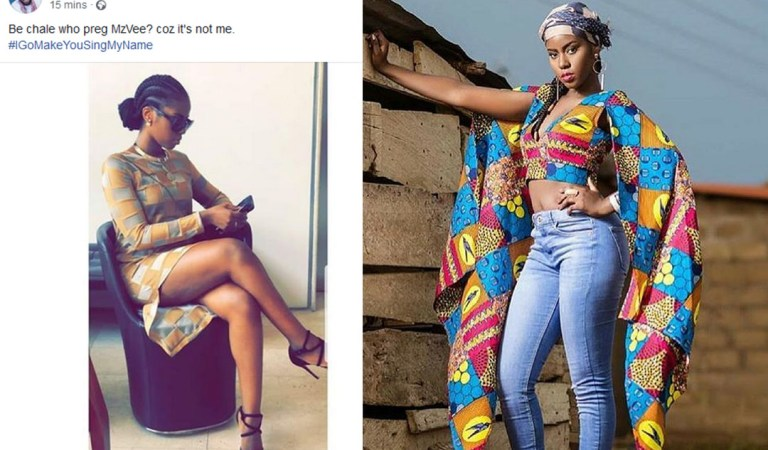 Is Ghanaian vocalist MzVee pregnant for real?