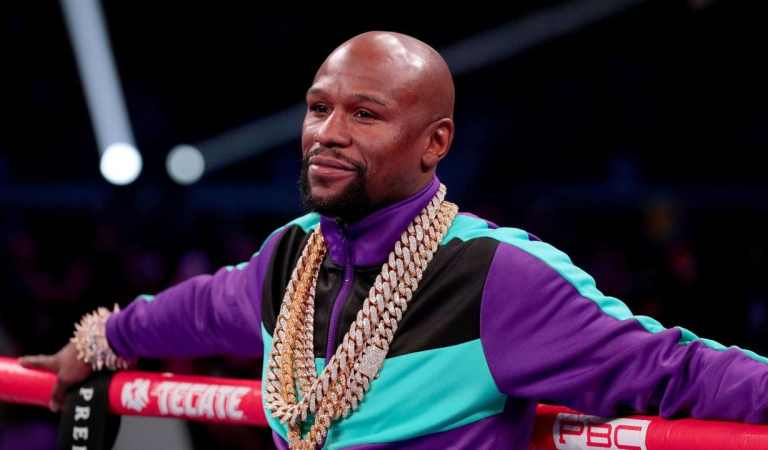 Watch: Floyd Mayweather announce his visit to Ghana again