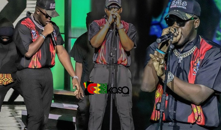 Medikal proves he is the Hiphop artiste of the year at Ghana Meets Naija 2019