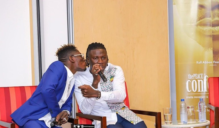 Video: Shatta Wale and Stonebwoy sit Man-To-Man to settle issues