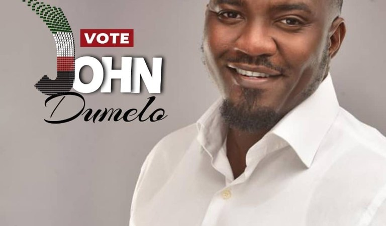 John Dumelo shares campaign poster showing he is ready to serve Ayawaso West