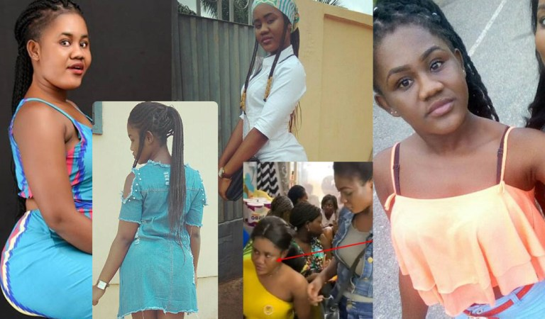 "Photos: Lady buying ""For Boys"" from Mama Gee pictures goes viral"